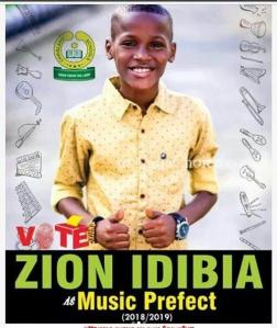 2Baba's Babymama Sunmbo, Celebrates Their Son, Zion's Appointment As Music Prefect In School