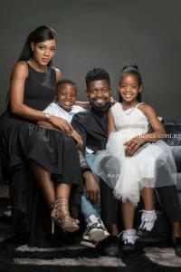 Basketmouth & Wife, Elsie celebrate 8th Year Wedding Anniversary with Beautiful Family Photos