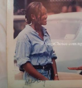 Check Out Throwback Picture Of Mercy Aigbe As A Growing Girl In UNILAG