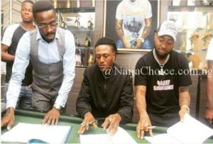 Complete Proofs That Idowest Is No Longer With Davido's DMW