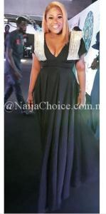 Curvy Nollywood Actress, Uche Jombo Poses In Elegant Gown (Photos)