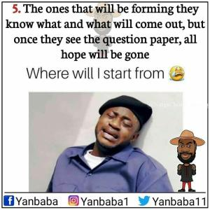 See The Different Types Of Students You Will Meet In An Exam Hall (Meme Collection)