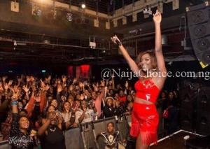 Simi's Sold Out Concert In London Gulped Over 20 Million Naira