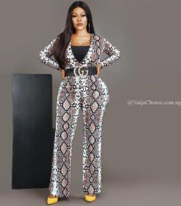 """Snake Hot Stew"": Actress Daniella Okeke Looks Radiant In Snake Outfit, Fans React"