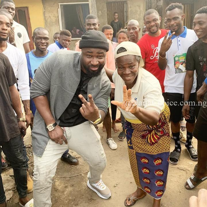 Harrysong Celebrates His Grandmother As He Shares Their Fun Photo Together