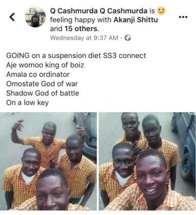 Secondary School Students In Lagos Excited About Their Suspension From School