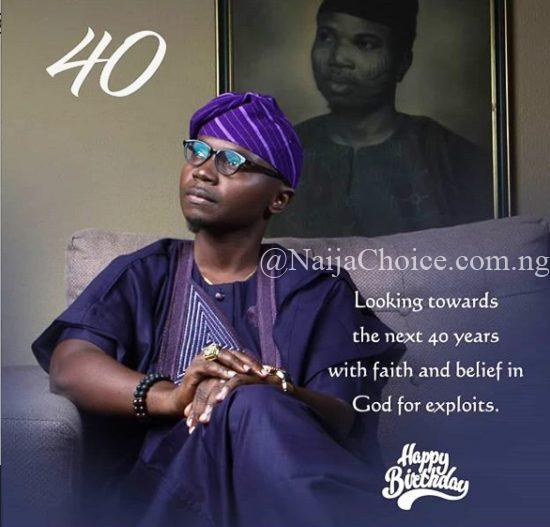 Teju Babyface Celebrates 40th Birthday With Adorable Photos