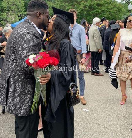Adewale Adeleke Pictured With His Girlfriend On Her Graduation