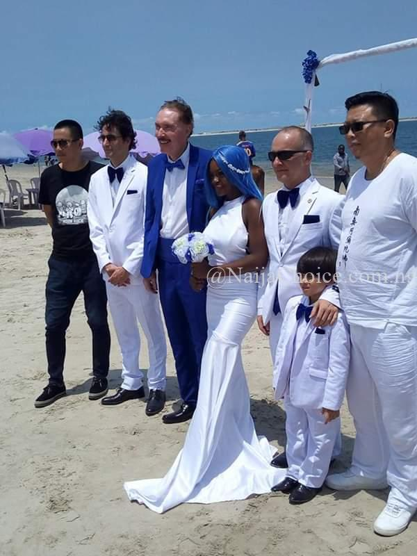 Beautiful Photos Of 21-year-old Nigerian Woman Getting Married To A White Man In Lagos (Photos)
