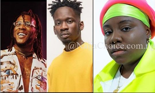 Burna Boy, Teni, Mr Eazi Nominated For BET Awards