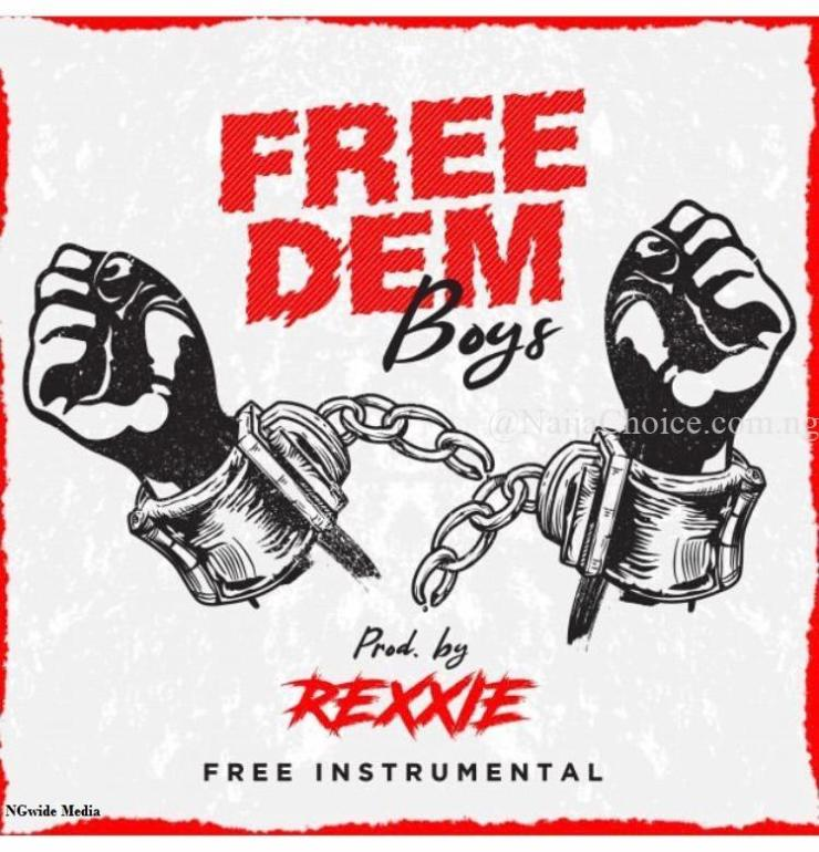 Download Freebeat: Free Dem Boys [Intrumental / Beat] – Prod. by Rexxie