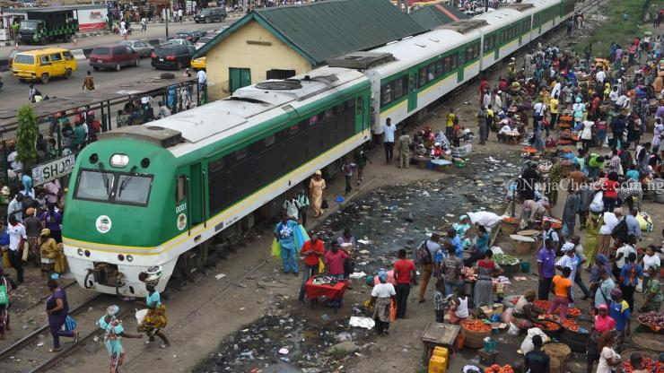 Horror! Many Escape Death As Train Traveling From Lagos To Kano Derails In Niger