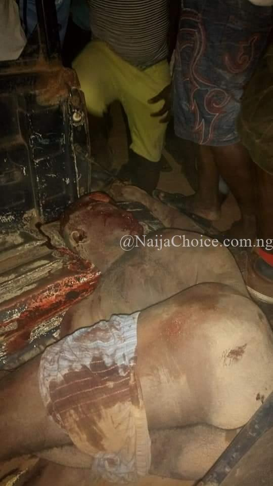 Notorious Cultists 'One Man Squad' Stoned To Death In Gboko (Graphic Photos)