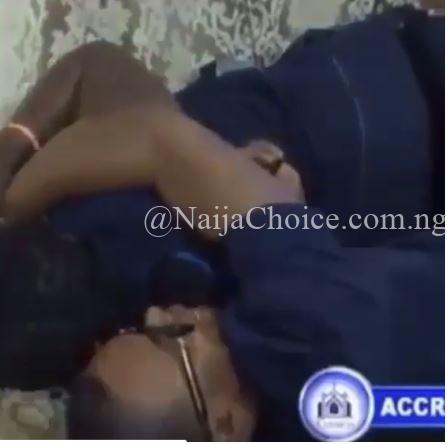 Popular Pastor Lays With Woman As He Prays For Her To Find A Husband (Video)