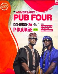 Psquare: Drama Looms As Peter Threatens To Sue Show Promoter Over Flyers Of Him And His Brother