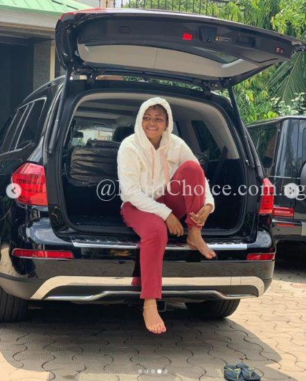 Teenage Actress Regina Daniels Adds Mercedes GL450 SUV To Her Collection