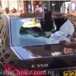 Frustrated Nigerian Man In London Destroys 5 Embassy Cars Over Failure To Receive Visa Services From Officials