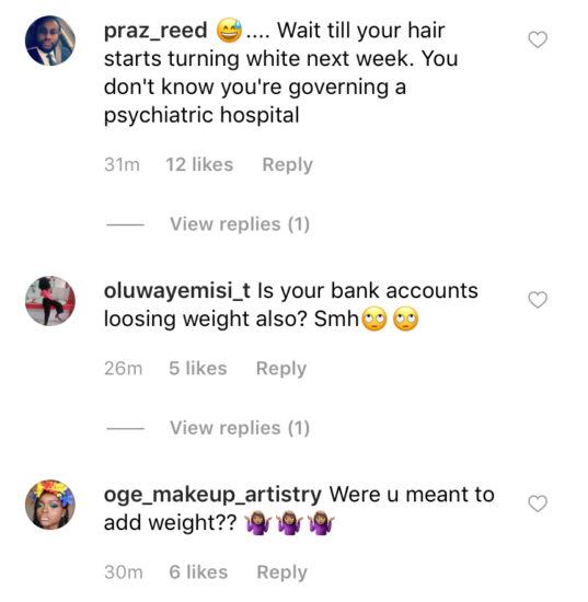 Nigerians React After Governor Sanwo-olu claims to have lost weight in less than 2 weeks