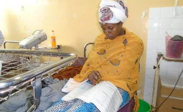 Unbelievable! Woman Sits For Her Exam Just 30 Minutes After Giving Birth (Photo)