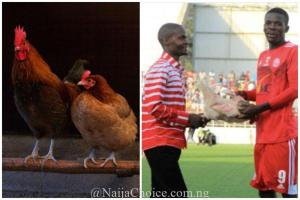 Footballer receives fowl as Man of the Match award in Malawi