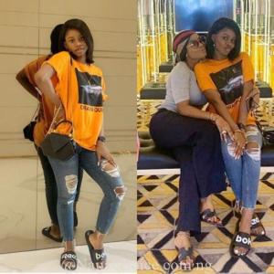 Iyabo Ojo and Priscilla Ojo living the luxe life in Dubai; Their Visit To Mompha's House