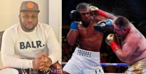 Olakunle Churchill To Bet $100,000 On Anthony Joshua To Win His Rematch Against Ruiz