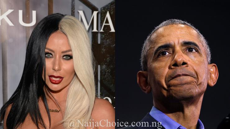 Popular U.S. Singer Falls In Love With Barack Obama, Begs Him To Impregnate Her (Photo)