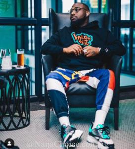 Davido Again Reassured His Loyalty To AYE Black Axe Confraternity (photos)