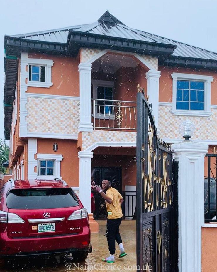 Dj Kaywise Shares Photo After Completing His New House