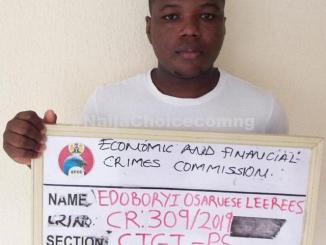 23-year-old Fake Jumia Agent Arrested In Benin City (Photo)