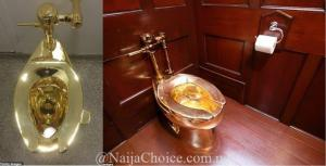 See The N2.2 Billion Gold Toilet Stolen From Britain's Blenheim Palace (Photos)