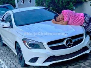 World Best! Toyin Abraham is now a Benz Owner