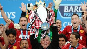 Alex Ferguson's Last Chewed Gum As Manager Sold For 181 Million Naira (Photo)