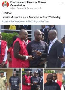 pm Mompha Smiles In Court As EFCC Shares Official Pictures