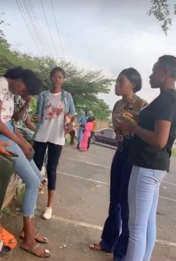 [VIDEO] Ibadan Polytechnic Student Confronts Colleague For 'Sleeping With Her Boyfriend' || Watch Video