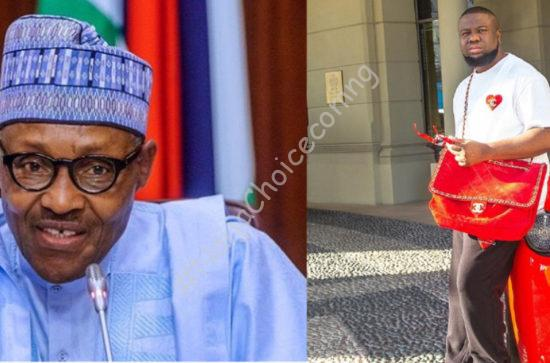"""""""Stay strong and impeach this people"""" – Hushpuppi impels Nigerians"""