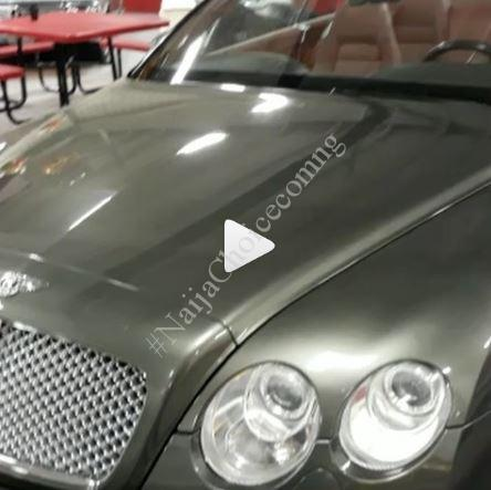 Actress Tonto Dikeh Buys Herself An Expensive Bentley Car (Video)