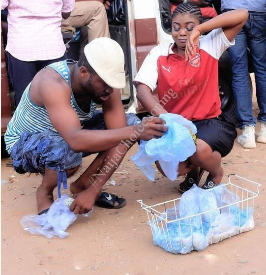 Bride-To-Be Turns Pure Water Seller In Stunning Pre-Wedding Pictures
