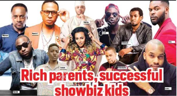 Check Out Nigerian Celebrities Who Actually Have Rich Parents