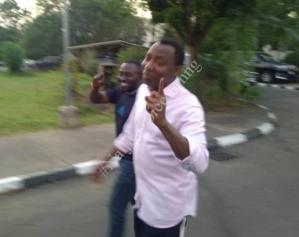 Omoyele Sowore Finally Released From DSS Custody (Photos)