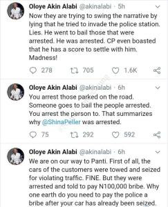 Quilox: Akin Alabi Accuses Police Of Demanding Bribe To Release Impounded Cars