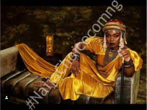Actress Bisola Marks 34th Birthday Channelling Queen Amina Of Zaria
