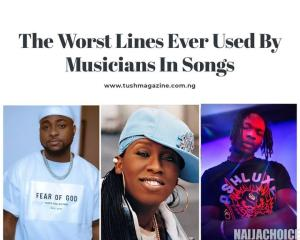 The Worst Lines Ever Used By Musicians In Songs