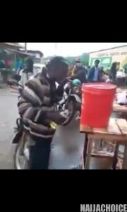 Coronavirus: Man Washes His Mouth With Hand-Sanitizer (Photo, Video)