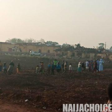 Explosion Rocks Akure, Houses, School, Churches Destroyed