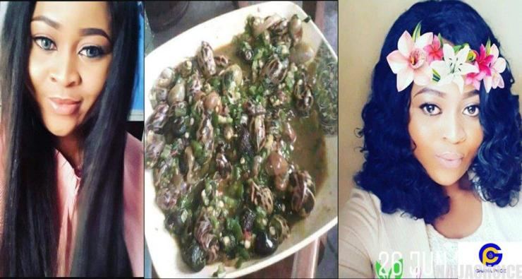 Lady gets dumped by her boyfriend after seeing the 'okro soup' she cooked for his family (Photo)