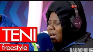 Watch Teni Freestyle On Tim Westwood Crib Session (Video)