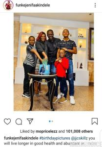 Funke Akindele And Her Husband Under Fire For Holding A House Party Amid Lockdown