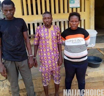 Herbalist And Wife Use 7-Year-Old Son For Money Ritual In Ogun (Photo)