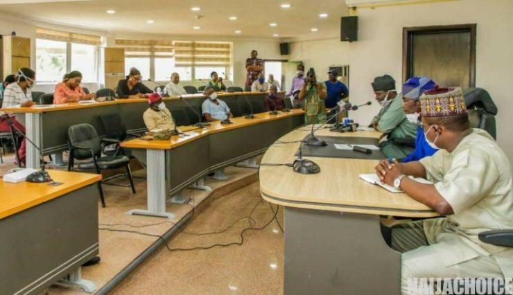 Lagos State presents cheques to families of the 23 deceased victims of the Abule-Ado explosion